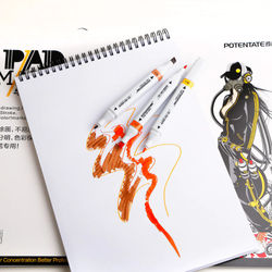 POTENTATE 32 Sheets 120gsm A4 A5 Marker Pad Sketch book Stationery Notepad Set For Drawing Book Manga Art Supplies