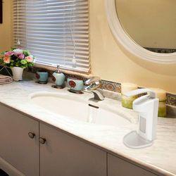 Elbow Soap Dispenser Hand Disinfection Dispenser Wall Mounted Sensor Alcohol Disinfection Spray Dispenser for School Hotel Bathr