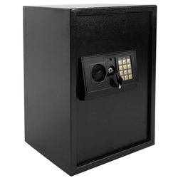 E50EA Home Use Electronic Password Steel Plate Safe Box Storage Cabinet Anti-thief Safety Strongbox