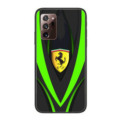 Supercar Luxury car Ferrari Italy Phone Case cover hull For SamSung note20 10 9 8 4 pro plus black prime soft bumper Transp