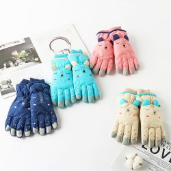 Children Winter Warm Ski Gloves Thermal Girls boys Winter Snowboard Gloves Cycling Snow Waterproof Skiing Gloves Outdoor Sports