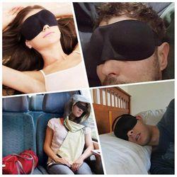3D Sleep Mask Natural Sleeping Eye Mask Eyeshade Cover Shade Eye Patch Women Men Soft Portable Blindfold Travel Eyepatch