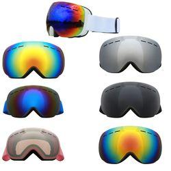 Luxury Brand Ski Goggles Double Layers UV400 Anti-fog Anti-snow Big ski Mask Glasses Skiing Snow Men Women Snowboard Goggles New