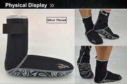 DIVING Professional 3MM Neoprene Scuba Dive Socks Wetsuit Material Shoes Snorkeling Equipment Winter Swim Warm Boots XS~XXL
