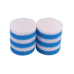 Compatible Coarse Foam Filter and Poly Fine Fit for Eheim Classic 2215 / 350 (6 x Poly Fine, 6 x Blue Coarse)
