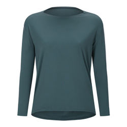 Sports Top Women Long Sleeve Activewear Running Workout Loose Fitness Pullover Quick Dry Breathable Slim Dry Fit Gym Yoga Shirt
