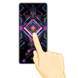25 Pcs/Lot Full Cover Screen Protectors For Xiaomi Redmi K40 Gaming Scratch Proof Protective Film Tempered Glass