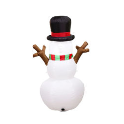 1.6m Explosions Christmas Inflatable LED Light Branches Snowman Air Model Doll Christmas Tree Holiday Party Decoration