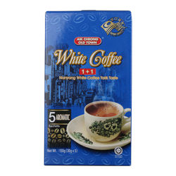 Free shipping 150g/box Malaysia imported coffee instant Yichang old street 1+1 white coffee 2 in 1 without sucrose