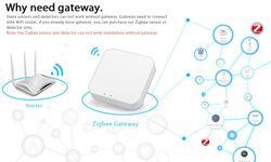 Tuya ZigBee Smart Life PIR Detector Infrared Security Alarm Detector IR Sensor Detector DIY Smart Home Real Time Siren Feedback