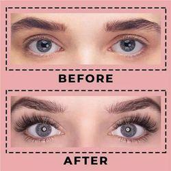 Hot Magnetic Eyelash Kit Reusable Fluffy 3D Eyelash Mink Lashes Natural Look Lashes for Women Handmade t6