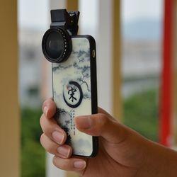 Adjustable 37mm Neutral Density Clip-on ND2 - ND400 Phone Camera Filter Lens