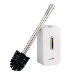 Bathroom Toilet Brush Holder Wall-mounted Holder Quick Drain Cleaning Brush Tools for Toilet Household WC Bathroom