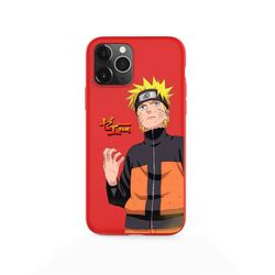 Anime Naruto Itachi Kakashi Phone Case For iPhone XS MAX 11 Pro X XR 7 8 6 Plus Candy Color red Soft Silicone Cover