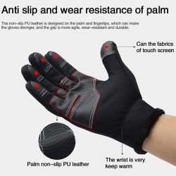 100% Waterproof Winter Cycling Gloves Windproof Outdoor Sport Ski Gloves For Bike Bicycle Scooter Motorcycle Warm Gloves