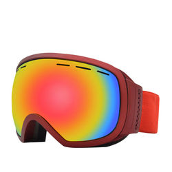 Adult Ski Goggles Double Layer Anti-fog Profession Single Layer Snowfield Eye-protection Goggles Cocker Spaniel Myopia Bicycle G