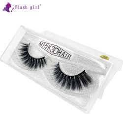High Quality Flash Girl W Series 20 Styles 5D Mink Eyelashes Wholesale Natural Wispy Fluffy Volume Handmade Mink Hair Lashes
