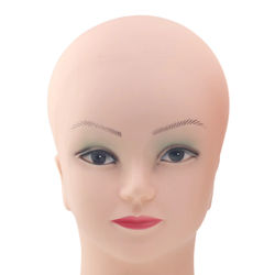 Dummy Head Mannequin Head Wig Making Hat Display Head Mannequin Wig Head With Stand Female Mannequin Heads For Sale