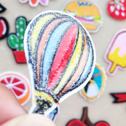 Fashion DIY Patches Cute animal Embroidery Patches for T-shirt Iron on Child kids Appliques Clothes jeans Stickers Badges patch