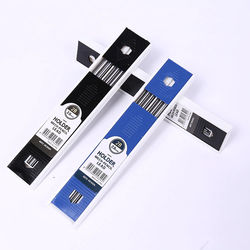 New 2MM 2B Lead Holder Automatic Mechanical Drafting W/Sharpener Head+12PCs Leads For Student Drawing Sketch Write Art Supplies
