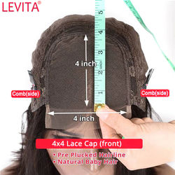 wholesale body wave lace front wig 4x4 lace closure frontal wig 28 30 inch Brazilian lace front long Human Hair Wigs for women