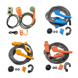 1 set Outdoor car shower Rain shower Car Motorcycle Car Washer Portable Outdoor Handheld Camping Shower