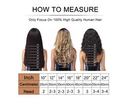 """BILY Micro Loop 100% Real Human Hair Extensions Straight Machine Remy Micro Ring Beads Hair 16""""-24"""" 1g/S Black Brown Color"""