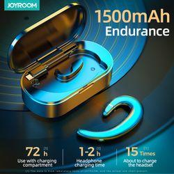 JOYROOM TWS Bluetooth 5.0 Earphones Wireless Bluetooth Headphone Noise Cancel HiFi Stereo Sport Headset Handsfree With Mic JR-P5