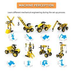 Radodo Building Blocks Set 8 In 1 Engineering Toys 100PCS Construction Educational For Children STEAM Toys