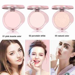 Oil Control Concealer Powder Delicate Long Lasting Single Makeup Layer 3 For Beauty Dry Color Girl Powder Finish Powder X5H1