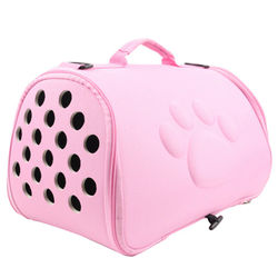 Portable Pet Breathable Shoulder Bag Outdoor EVA Folding Pet Bag Handbag Space Cats Dogs Backpack Travel Shoulder Bag Cats Dogs
