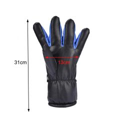 Winter Ski Outdoor Work USB Hand Gloves Warmer Electric Heated Gloves With 4000mAh Rechargeable Battery Motorcycle Cycling Glove