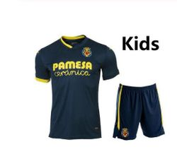 KIDS 2021 Villarreal CF S.CAZORLA Soccer Jerseys CHUKWUEZE FORNALS Football Shirt PEDRAZA MORENO EKAMBI IBORRA Camiseta de Ftbo