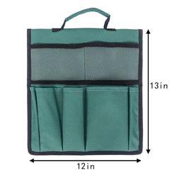 Garden Cart Flatbed Scissors Tool Storage Organizer Bag Garden Kneeler Tool Bags
