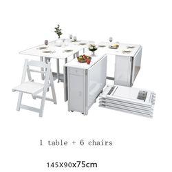 De Jantar Bureau Dining Tafel Camping Redonda Portable Dinning Set Folding Kitchen Furniture Desk Mesa Plegable Dinner Table