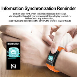 2020 Smart Bracelet 18T Body Temperature Measurement Smartband Pedometer Multi-sport Fitness Bracelet Band For Xiaomi Huawei IOS