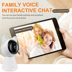 5MP Home PTZ HD Wireless IP Camera Wifi Mini Camera Network Video Surveillance Tracking Camera AI Human detection Night vision