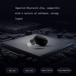 Wireless headset Bluetooth 5.0 Single Ear Wireless Headset Mini In-Ear Sports Running Headset Android Phone HD Call