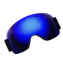Ski Snowboard Snow Goggles Design For Men Women With Spherical Detachable Lens Uv Protection Anti-fog Goggles