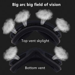 Ski Goggles Double Layers Skiing Eyewear Anti-fog Skiing Goggles UV Proof PC Goggles Winter Outdoor Snow Glasses Snowboard Glass