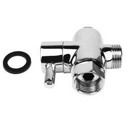 SOLID diverter 3-way diverter valve All 1/2 inch IPS shower system spare part, copper chrome plating