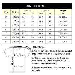 Baby Girl Clothes Outfits Kids Tshirt Star T Shirt Kids GameT-shirts Children 2020 Summer Tops Boy Cartoon Anime Clothes Cotton