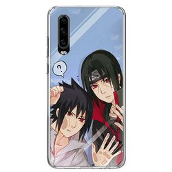 Sasuke Naruto Phone Case For Huawei P30 P40 P20 P10 Mate 30 20 10 P Smart Z Lite Pro Plus + 2019 Cover Coque Shell