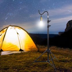 Outdoor Tripod Bracket Lightweight Light Stand Convenient Lamp Support Holder Tripod For Outdoor Photos Picnics Camping Hiking