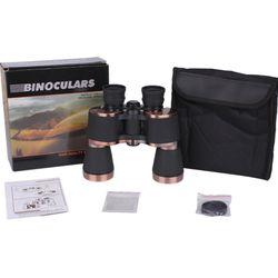 HD high magnification 20X50 professional binoculars powerful long-distance waterproof BAK4 prism camping binoculars