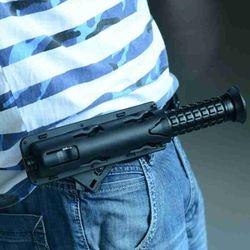 New Universal 360 Degree Rotation Baton Case Black Holster Holder Self Defense Outdoor Safety Survival Kit EDC Tool