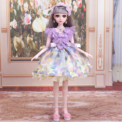 60cm Fashion Doll Dress Clothes Suit Cute Doll Princess Skirt Casual Wear Accessory Outfits Girls 1/3 bjd Doll DIY Gift's Toys