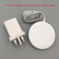 Original Huawei CP60 15W QI Wireless Charger and Type C Cable For Huawei P40 Pro P30 Mate 20 RS 30 iphone 11 8 X Pro XR XS MAX