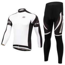 New style cycling wear long-sleeved suit Cycling wear Spring and autumn moisture wicking underwear