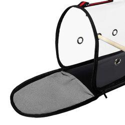 Outdoor Travel Transport Parrot Cage Bird Carriers Accessories Pvc Transparent Breathable Parrot Handbag